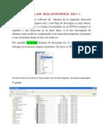 tutorialcomoinstalarsolidworks2011-110228095705-phpapp01