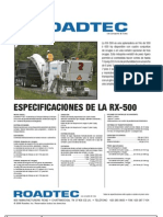 RoadtecRX500