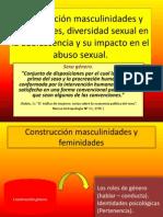 Construcción masculinidades y feminidades, diversidad sexual en