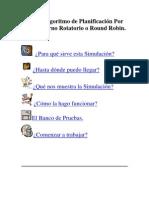 Algoritmo de Planificación Por Turno Rotatorio o Round Robin