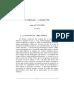 Autobiografía y autoficción - Anna Agustí Farré