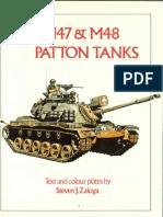 m47 & m48 Patton Tanks