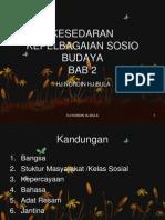 KSedaran Dan Pelbagai SosioBudaya Bab 2