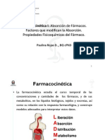 Clase 3 Farmacocinetica I y II