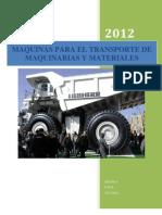 Maquinas Para El Transporte de Maquinarias y Materiales (2)