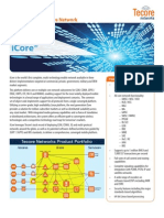 Tecore iCore 2G / 3G / 4G Multi-Technology Core Network Specifications