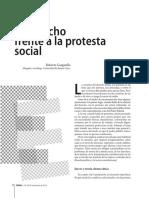 """""""El Derecho frente a la Protesta Social"""""""