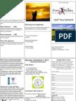 PJ Gym golf brochure