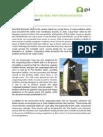 Achievement Report April - Composting Toilets v2 Final