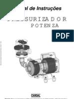 Manual Pressurizador Potenza IM311 R02