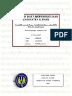 Tugas Individu I - Analisis Data Kependudukan