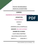 Dinamica de La Particula Julieta-Ana Patricia