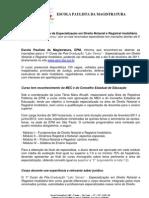 RELEASE - SIMPÓSIO DA MAGISTRATURA - DIREITO REGISTRAL