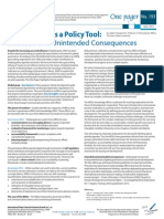 Global Goals as a Policy Tool