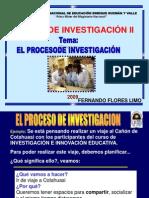 Proceso Investigacion II