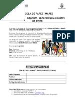 Full d'inscripció 2a EDICIÓ COM ACTUAR
