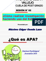 SESION N° 02 - ¿COMO REALIZAR INVESTIGACIONES EN EL ESTILO APA.ppt
