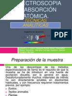 Espectroscopia de absorción atómica