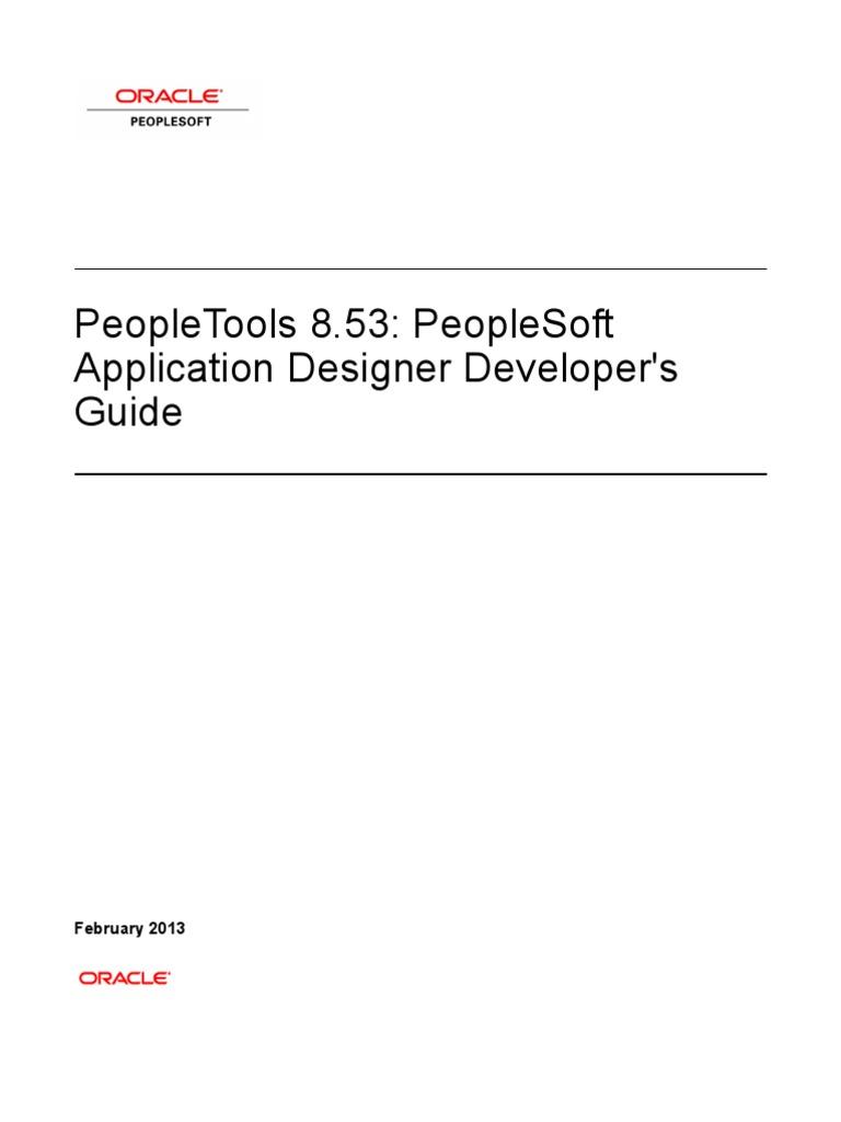 PeopleSoft Application Designer Developer's Guide   License   Table  (Database)