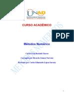 Modulo Metodos Numericos 2012