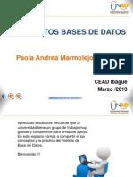 1. Conceptos Base de Datos