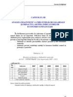 Analiza cheltuieli salariale.STUDIU DE CAZ