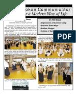 The Seidokan Communicator, August 2006