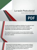 La razón Postcolonial