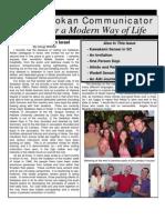 The Seidokan Communicator, June 2005