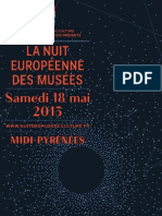 Program for Night of the Museums in  Midi-Pyrenees 2013