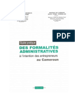 guide pratique des formalités administratives à l'intention des entrepreneurs au cameroun.pdf