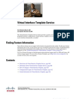 Virtual Interface Template Service