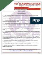 Practice Paper Icse