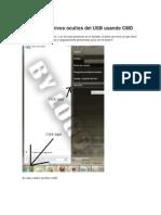 Como Ver Archivos Ocultos Del USB Usando CMD