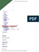 Cement Dealers Apprehensive of Business _ Business Standard