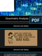 Gravimetric Analysis Prelab