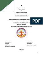 24497662 My Project Report on Kajaria Ceramics Ltd for BBA