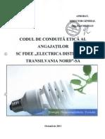 Codul de Conduita Al Anagajatilor EDTN