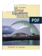 Partials Differential Equations by Asmar
