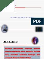 11. Analisis Golongan Alkaloid