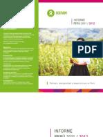 V Informe Oxfam Peru 2011 2012
