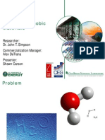 Superhydrophobic Materials aprt