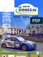 Donegal Rally Ireland 2013 RALLY GUIDE