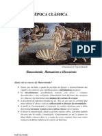 classicismo, humanismo, renascimento