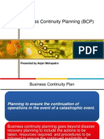 Business Continuity Planning Anjan