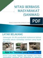 Presentasi Sosialisasi Sanimas Oleh Tfl Kota Kupang