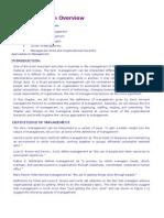 Lecture Notes-Management