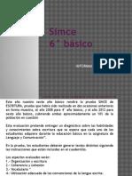SIMCE 6° BÁSICO ESCRITURA ACTUALIZADO 25-03