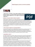 France - Affaire Hacène Rabah Bouguerra, justice et connivence politique