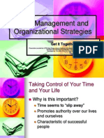 Time Management and Organizational Skills